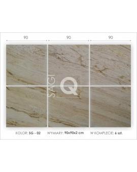 Płyta granitowa formatowana 90x90x2 cm